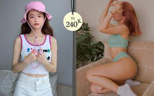 """Đồ local brand sao Việt vừa diện: Crop top của Linh Ka chỉ 240k, nội y sexy của Mẫn Tiên đang sale chị em """"múc"""" liền"""
