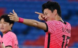 """Đội bóng quê hương thầy Park """"hủy diệt"""" đối thủ cạnh tranh 6-0, vào tứ kết Olympic ở ngôi đầu bảng"""
