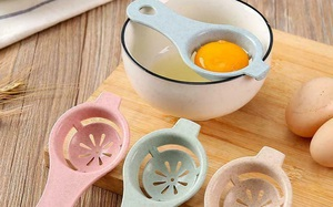 Đồ gia dụng từ nhựa lúa mạch xinh quá: Nào máy vắt cam, tô úp mì đến thìa tách lòng đỏ trứng, giá siêu rẻ chỉ từ 5k