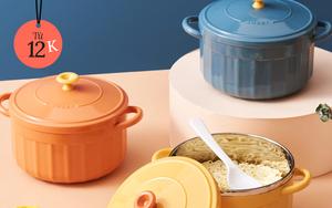 Bát đĩa, bình nước xinh xẻo sale rẻ quá: Chỉ từ 12k sắm ngay đồ decor bếp chuẩn style Nhật - Hàn