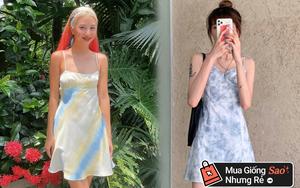 Quỳnh Anh Shyn diện váy hai dây tie dye quá