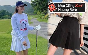 Nhìn Hyomin diện chân váy tennis thấy