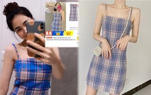 """Hòa Minzy khoe váy hai dây siêu xinh, giá cực """"êm"""" chỉ 90k nàng nào cũng nên tia gấp"""