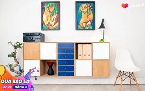 Tuyển tập top 10 đồ nội thất đang hot trên Pinterest, sale từ 35% trở lên, chỉ đặt vào nhà là không gian nâng tầm nghệ thuật