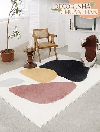 Muốn F5 căn phòng mà không cần đập đi xây lại thì tậu ngay thảm trải sàn bao đẹp, lại dễ dùng dễ kiếm