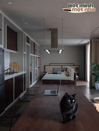 """Chuyển ra riêng, cô gái mua căn hộ 91m2 để sống đời độc thân trong mơ, đầu tư nhất lại là """"cái tổ"""" cho thú cưng"""