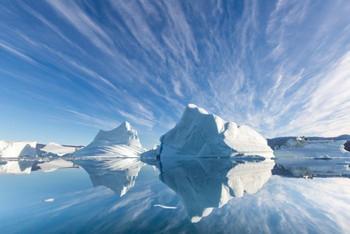 Tại sao lại có tảng băng vừa xanh vừa sọc này? Câu trả lời sẽ giúp bạn hiểu thiên nhiên tuyệt diệu đến thế nào - Ảnh 1.