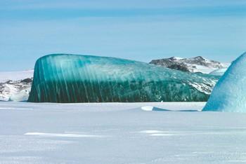Tại sao lại có tảng băng vừa xanh vừa sọc này? Câu trả lời sẽ giúp bạn hiểu thiên nhiên tuyệt diệu đến thế nào - Ảnh 3.