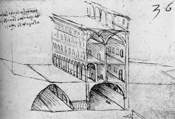 Ý tưởng quy hoạch đô thị cách đây 521 năm của Leonardo da Vinci cho thấy tầm nhìn thiên tài của ông - Ảnh 2.