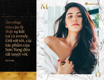 Phỏng vấn độc quyền nàng thơ Mai Davika: Khen Sơn Tùng M-TP là một nghệ sĩ rất tài năng, lần đầu kể chuyện quay MV - Ảnh 4.