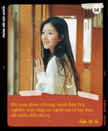 Phỏng vấn độc quyền mỹ nhân Cbiz Triệu Lộ Tư: Bật mí khó khăn khi cặp với toàn soái ca, gửi lời chúc Tết đến fan Việt - Ảnh 4.
