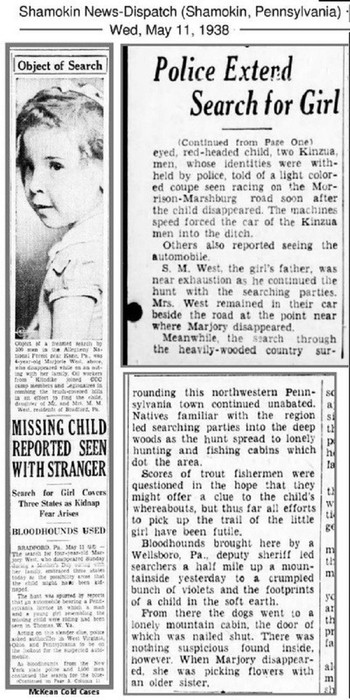 Vụ mất tích quái đản nhất lịch sử Mỹ: Bé gái biến mất trong nháy mắt, cả nghìn người lùng sục khắp nước Mỹ nhưng 80 năm vẫn không rõ sống chết - Ảnh 3.