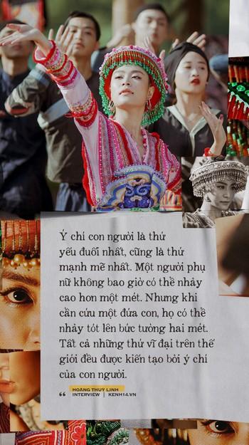 """""""Vợ chồng A Phủ"""" có ý nghĩa đặc biệt với Hoàng Thuỳ Linh, vì đó là tác phẩm giúp Linh đậu đại học - Ảnh 9."""