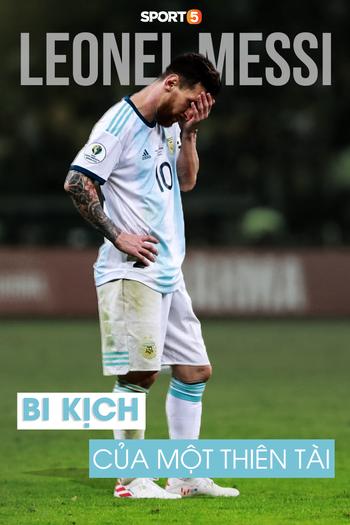 Chuyện lúc 0h: Vì sao Lionel Messi sẽ không bao giờ vô địch cùng Argentina, hay bi kịch của một thiên tài - Ảnh 1.