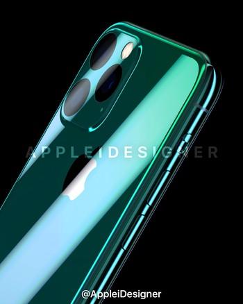 2 tiết lộ vỡ tim về iPhone XI: Xóa logo ở mặt lưng, màu xanh rêu đẹp nhất năm 2019 - Ảnh 2.