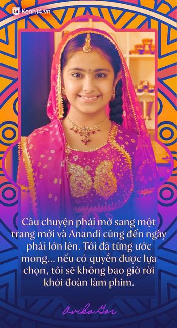 """Phỏng vấn độc quyền """"Cô dâu 8 tuổi Avika Gor ngày Tết: Lần đầu kể về cái duyên hiếm có với Anandi, thay đổi cả nền điện ảnh Ấn Độ và chuyện tình cảm với bạn thân tài tử - Ảnh 2."""