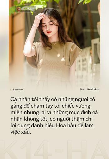 Hoa khôi Ngoại Thương thi HHVN 2020 Nguyễn Hà My: Có người cố thành Hoa hậu không vì mục đích cao cả, lợi dụng danh hiệu làm việc xấu - Ảnh 7.