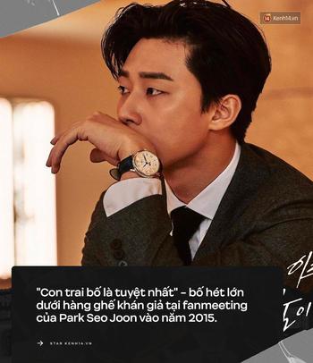 Park Seo Joon: Kẻ cố chấp không bước vào showbiz vì tiền nhưng lại phải cúi đầu trước 5 chữ Con trai bố tuyệt nhất đẫm nước mắt - Ảnh 5.