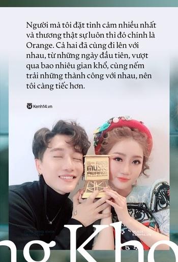 Châu Đăng Khoa: Tôi vẫn thương và xem clip của Orange mỗi ngày, nhưng không thể tha thứ! - Ảnh 13.