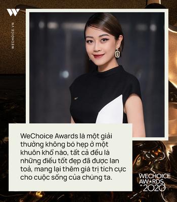 MC Phí Linh trải lòng về màn comeback ở WeChoice Awards 2020, hé lộ về điều diệu kỳ và gương mặt đề cử gây ấn tượng nhất mùa giải - Ảnh 5.