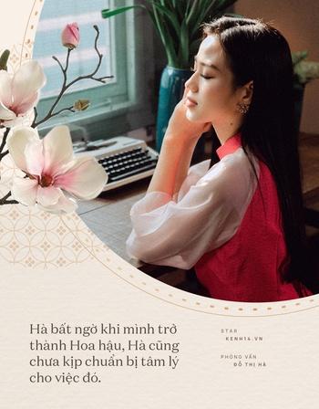 Đỗ Thị Hà và năm đầu tiên đón Tết với cương vị là Hoa hậu: Tôi chưa có người yêu, nhưng đẹp mà không có ai tán mới lạ - Ảnh 4.