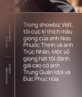Anh Tú: Hòa Minzy không hề bị lu mờ, chỉ là do chị Uyên Linh và Văn Mai Hương hát quá hay mà thôi - Ảnh 11.