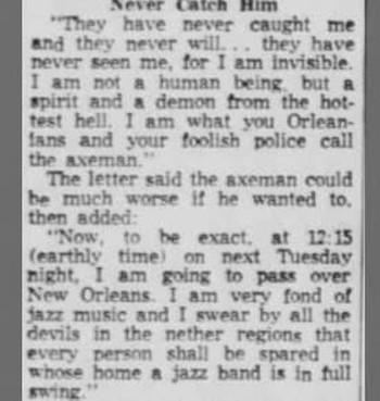 """Kỳ án khiến nước Mỹ ám ảnh bậc nhất mọi thời đại: """"Sát thủ cầm rìu"""" không mặt làm cả một thành phố phải đồng loạt bật nhạc Jazz suốt đêm - Ảnh 2."""