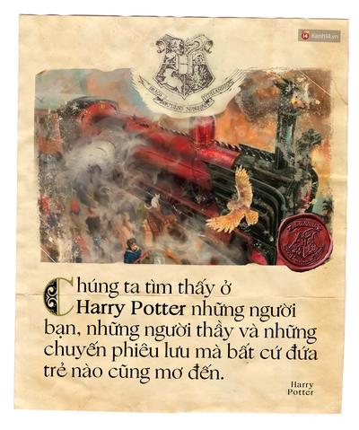 20 năm, 7 tập truyện: Harry Potter vừa là thế giới phép màu ai cũng mơ, vừa là nơi chúng ta cùng nhau trưởng thành - Ảnh 7.