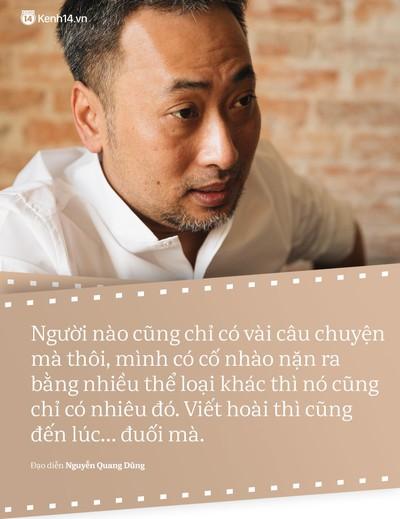 Đạo diễn Nguyễn Quang Dũng: Không phải phim nào remake cũng thành phim hay! - Ảnh 2.