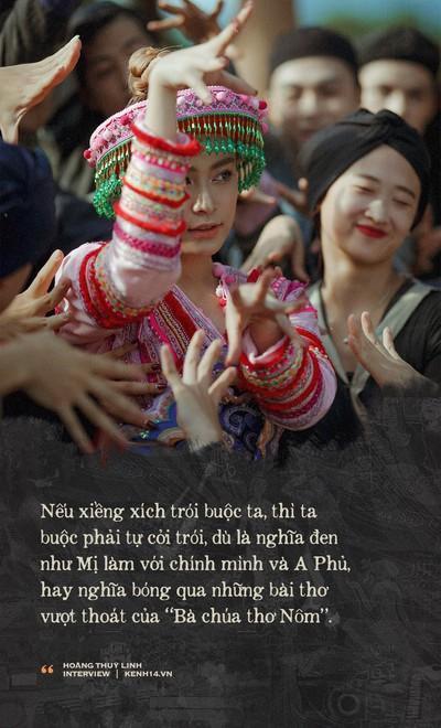 """""""Vợ chồng A Phủ"""" có ý nghĩa đặc biệt với Hoàng Thuỳ Linh, vì đó là tác phẩm giúp Linh đậu đại học - Ảnh 7."""
