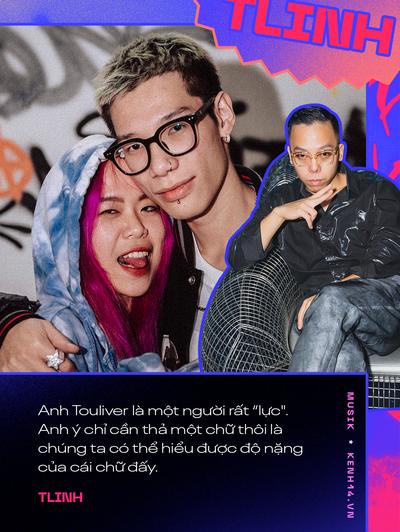 Cặp đôi MCK và Tlinh: Muốn biến mainstream trở nên Hip-hop hơn, thấy sai khi đã dùng tiêu cực để đáp lại tiêu cực - Ảnh 4.