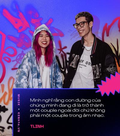 Cặp đôi MCK và Tlinh: Muốn biến mainstream trở nên Hip-hop hơn, thấy sai khi đã dùng tiêu cực để đáp lại tiêu cực - Ảnh 10.
