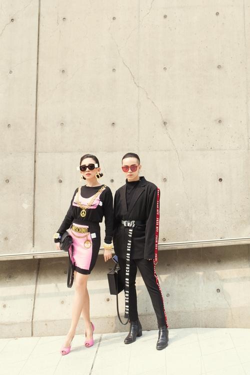 Tóc Tiên và Kelbin Lei xung trận Tuần lễ thời trang Seoul với phong cách chất lừ - Ảnh 4.
