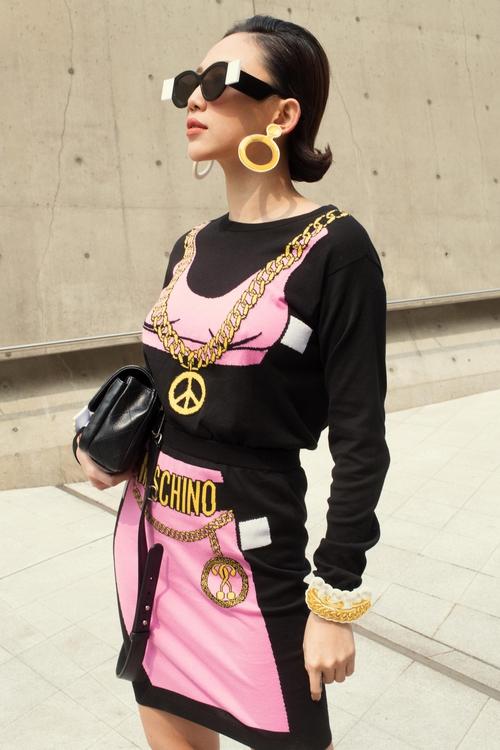 Tóc Tiên và Kelbin Lei xung trận Tuần lễ thời trang Seoul với phong cách chất lừ - Ảnh 8.