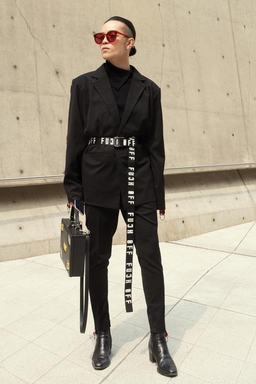 Tóc Tiên và Kelbin Lei xung trận Tuần lễ thời trang Seoul với phong cách chất lừ - Ảnh 10.