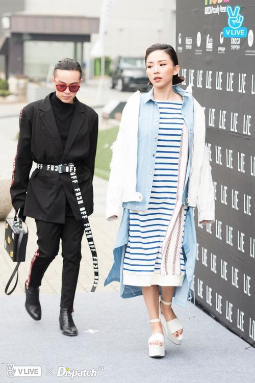 Tóc Tiên và Kelbin Lei xung trận Tuần lễ thời trang Seoul với phong cách chất lừ - Ảnh 13.