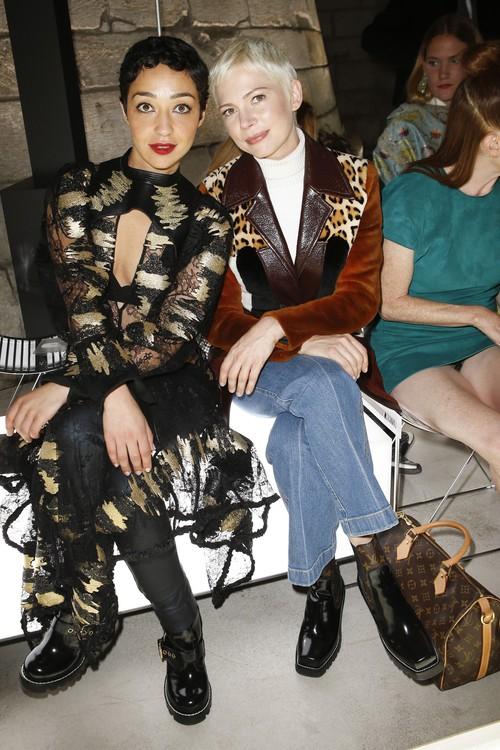 Phạm Băng Băng ăn diện như... X-men, chễm chệ ngồi ghế đầu Louis Vuitton ngang siêu sao Hollywood - Ảnh 5.