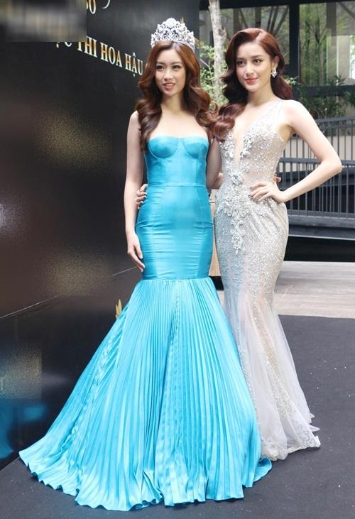 Ngay sự kiện công bố tham dự thi Hoa hậu Thế giới 2017, HH Đỗ Mỹ Linh đã bị dìm dáng - Ảnh 2.