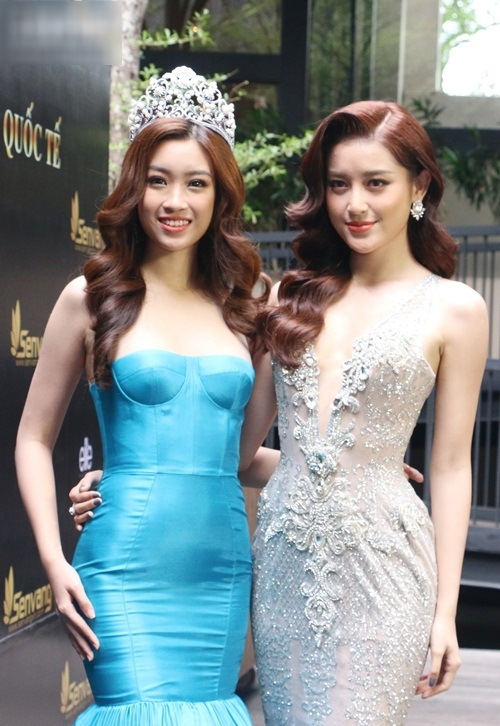 Ngay sự kiện công bố tham dự thi Hoa hậu Thế giới 2017, HH Đỗ Mỹ Linh đã bị dìm dáng - Ảnh 3.
