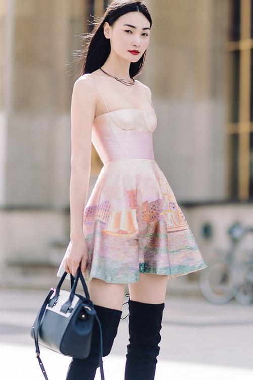 Độc quyền: Thùy Trang là mẫu Việt đầu tiên diễn cho show thứ 2 của ông lớn Louis Vuitton tại Paris Fashion Week - Ảnh 7.