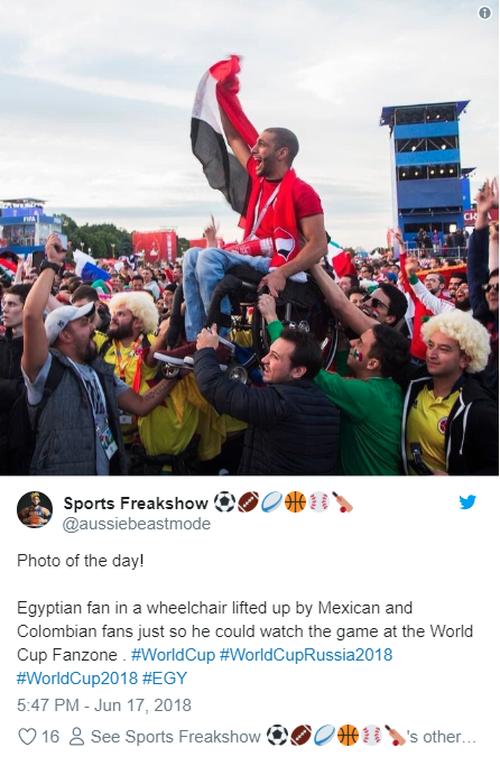 Những khoảnh khắc đáng nhớ nhất tại World Cup 2018 cả trong sân cỏ lẫn trên khán đài - Ảnh 7.
