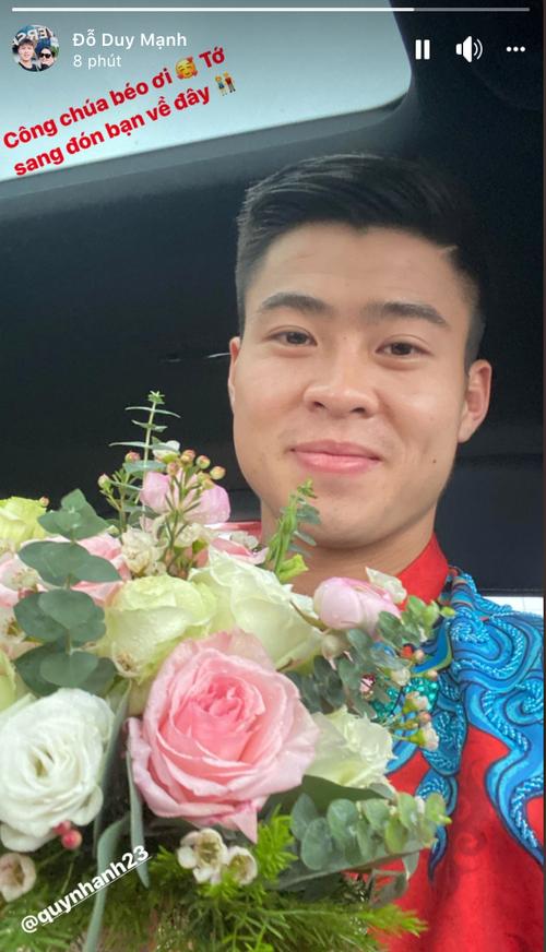 Đám hỏi Duy Mạnh - Quỳnh Anh: Cô dâu chú rể cảm ơn quan khách, kết thúc buổi lễ vất vả nhưng đầy hạnh phúc - Ảnh 29.