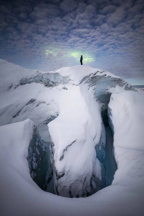 Những bức ảnh hiện tượng cực quang ở đảo Greenland đầy choáng ngợp khiến người xem cảm giác như đang lạc ra ngoài không gian - Ảnh 7.