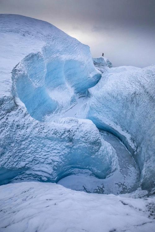 Những bức ảnh hiện tượng cực quang ở đảo Greenland đầy choáng ngợp khiến người xem cảm giác như đang lạc ra ngoài không gian - Ảnh 4.