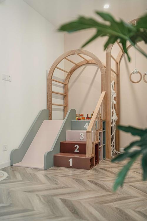 Tậu căn hộ Vinhomes Ocean Park 98m2, vợ chồng trẻ chi 350 triệu thiết kế theo style chuẩn tây quá ấm áp bình yên - Ảnh 12.