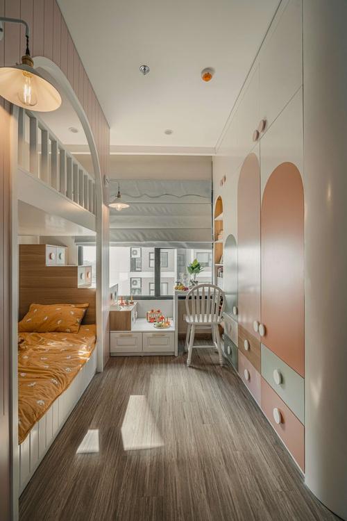 Tậu căn hộ Vinhomes Ocean Park 98m2, vợ chồng trẻ chi 350 triệu thiết kế theo style chuẩn tây quá ấm áp bình yên - Ảnh 10.