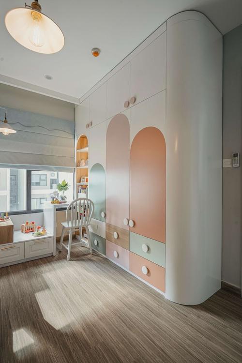 Tậu căn hộ Vinhomes Ocean Park 98m2, vợ chồng trẻ chi 350 triệu thiết kế theo style chuẩn tây quá ấm áp bình yên - Ảnh 11.