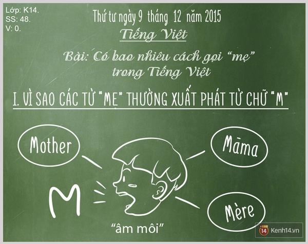 """Bạn biết được bao nhiêu cách gọi """"Mẹ"""" trong tiếng Việt? - Ảnh 1."""