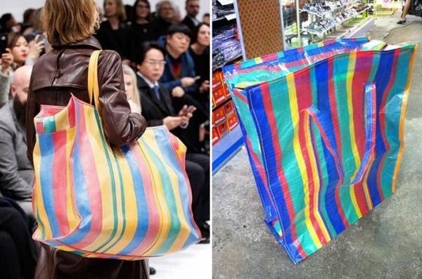 Hài hước túi xách nghìn đô của Balenciaga giống hệt túi nilon Thái Lan - Ảnh 2.