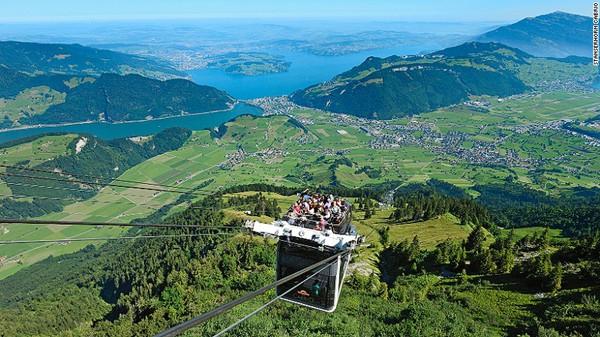 Stanserhorn Cabrio (Lucerne, Thụy Sĩ)